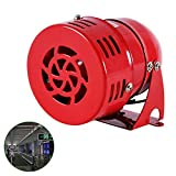 BAOSHISHAN Sirena de Cuerno Mini Motor Impulsado Alarma para Ataque Aéreo