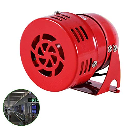 BAOSHISHAN Mini Motor Driven Air RAID Siren Horn metallo industria di allarme di emergenza 220 V