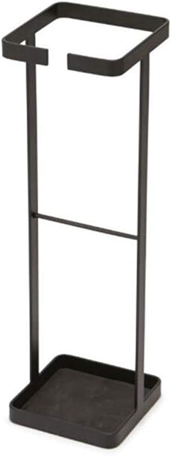 JINLINE Simple Floor Stand Creative Home Umbrella Barrel European Wrought Iron Storage Umbrella Stand 15  15  49cm Umbrella Stand