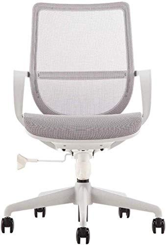 Bürostuhl Gaming Stuhl Computer Taskstuhl Swivel Stuhl Schreibtischstuhl 115 ° Tilt Design Sessel (Color : Grey)