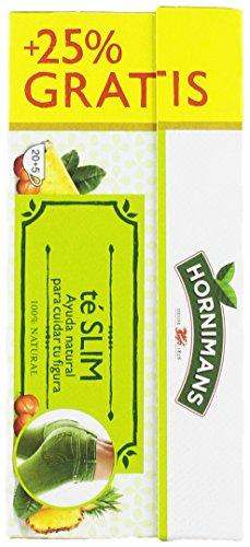 Hornimans - Bolsitas Té Verde, guaraná Y Pina Me Funciona 20 x 1,5 g - [Pack de 6]