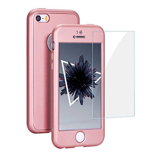 Anfire Funda iPhone 5 / 5S Suave Silicona Case Gel TPU Fundas,...