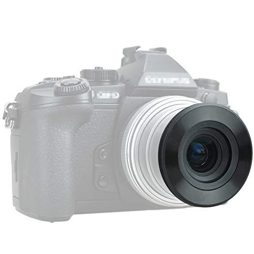 JJC 自動開閉式レンズキャップ Olympus M.ZUIKO DIGITAL ED 14-42mm F3.5-5.6 EZ & Olympus M.Zuiko Digita...
