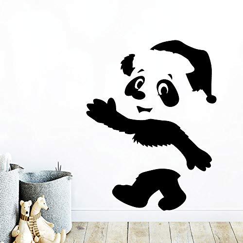 Tianpengyuanshuai creatieve panda muursticker muurschildering voor kinderkamer kinderkamer kamerdecoratie vinyl sticker
