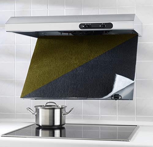Wenko Combi-Filter, mit Aktivkohle gegen Fettgeruch, 57 x 47 cm, schwarz