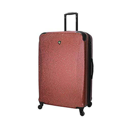 Mia Toro Italy Ofena Hard Side 30 Inch Spinner Luggage, Red, One Size