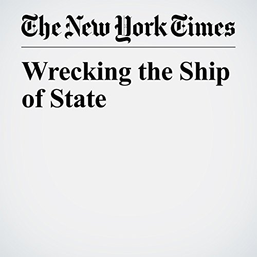 Wrecking the Ship of State copertina