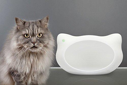 jerry\'s Design Katzenhöhle/Katzenbett/Katzenhaus Jerry aus pflegeleichtem Kunststoff, für große Katzen, Made in Germany, Weiß