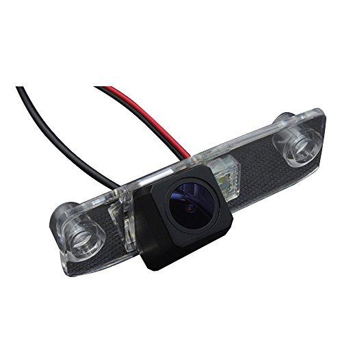 Greatek Caméra de Recul Voiture en Couleur Kit Caméra vue arrière de voiture Imperméable IP67 avec large Vision Nocturne pour Elantra Sonata Accentt Tucson Terracan Carens Opirus Sorento