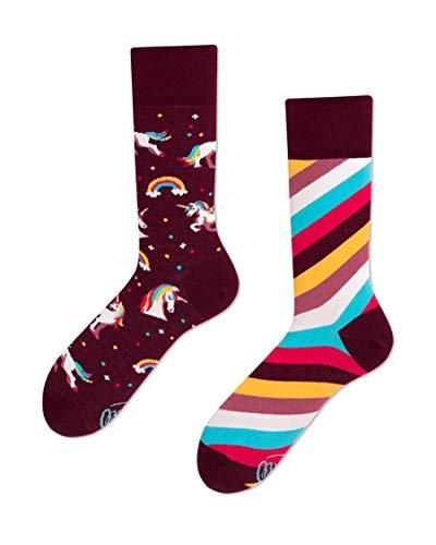 Many Mornings unisex Socken The Unicorns (Mehrfarbig, 35-38)