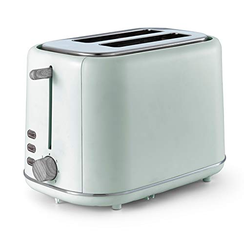 Tower Scandi T20027GRN 2 Slice Toaster with Adjustable Browning Control, Sage Green