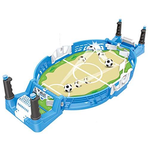feeilty Foosball Tischspiele, Kinder-Mini Tabletops Fussball Spiel Desktop-Football-Spieler Zwei-Finger-Sport-Spielzeug Für Spielzimmer, Arcades, Familie Nacht