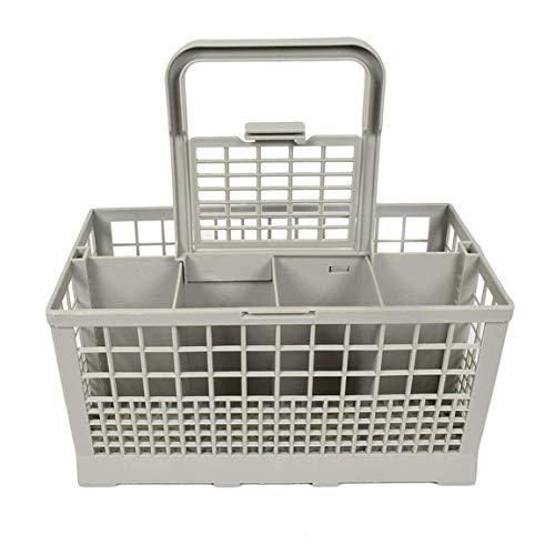abbybubble Caja de Almacenamiento Universal Cuadrada Ligera para lavavajillas portátil Cesta de Cubiertos para lavavajillas Europea Americana