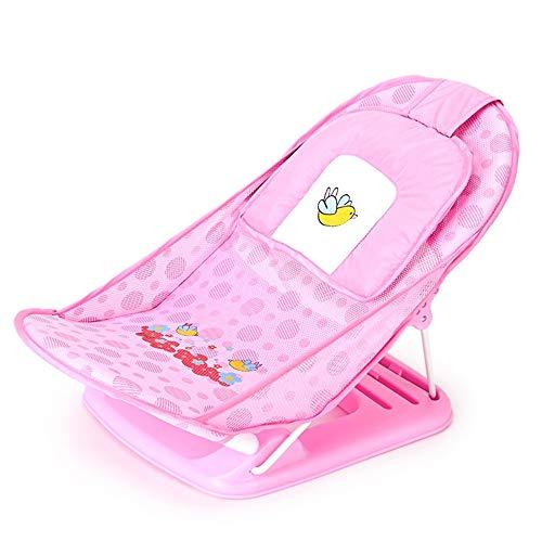 WYZQQ Badkuiphouder voor baby's, badkuipen, opvouwbaar, multifunctioneel, kantelbaar in 3 posities – geschikt voor de meeste badkuipen