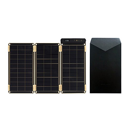 Solar Paper + Pouch, Paper-Thin and Light Portable Solar Charger with Ultra-High-Efficiency (7.5W)