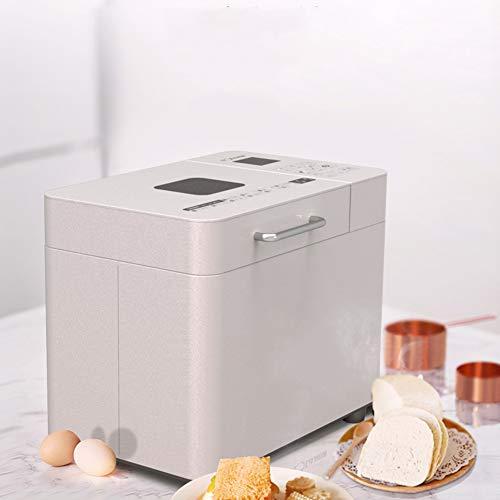 YLEI Panificadora, Máquina Programable para Hacer Pan, Panificadora de 550W para Panes Sin Gluten, 15H Temporizador de Retardo, 500g-1000g (369 * 267 * 306mm)