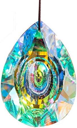H D HYALINE DORA 89mm 3 5in Hanging Chandelier Crystals Prisms for Window Suncatchers Chandelier product image
