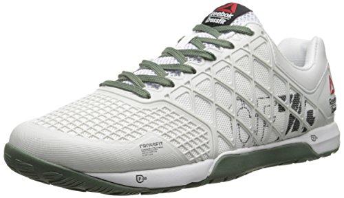 Reebok Men's Crossfit Nano 4.0 Training Shoe, Impact Blue/Chartreuse/Collegiate Navy, 7.5 M US