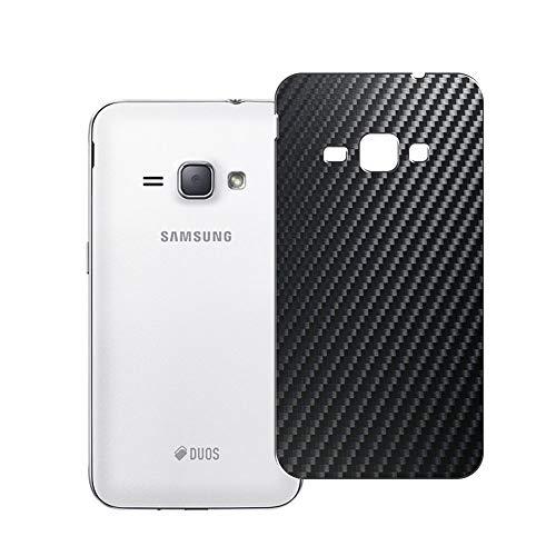 VacFun 2 Pezzi Pellicola Protettiva Posteriore Nero, compatibile con Samsung Galaxy J1 (2016) J120F/Express 3 J120A/Amp 2 J120H J120M (Non Vetro Temperato Protezioni Schermo Cover Custodia) Back Film