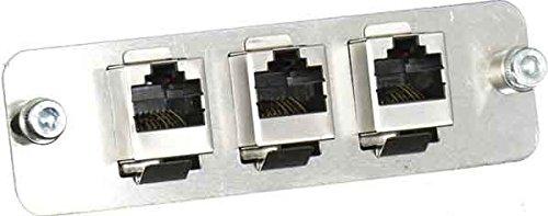 Wantec Verbindungssatz CAT.5 u.TFE für AGFEO AS 40/40P/43/45 / AUERSWALD Basic I/II/AASTRA OpenCom 130 / elmeg ICT