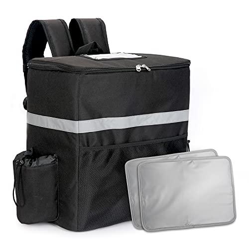 ウーバーイーツ バッグ デリバリーバッグ うーばーいーつ 食事配達バック 宅配デリバリー用 保冷バッグ 大容量 サーモス 保冷バッグ 防水 保温