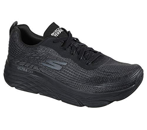 Skechers Men's Max Cushioning Elite-Performance Walking & Running Shoe Sneaker, Black, 12