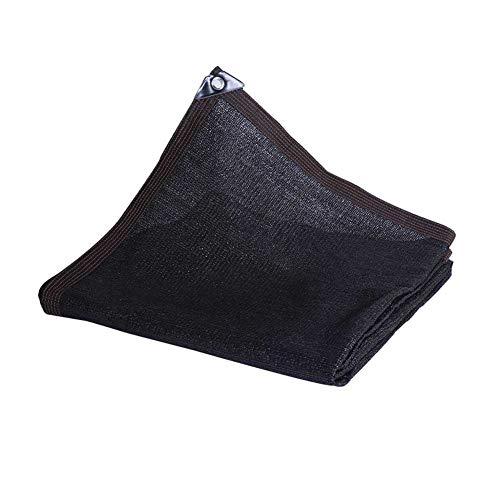 WJJ Toldos Exterior Toldo Camuflaje Protección UV Tela De Sombra Sombra Transpirable Sombra De Sombra A Prueba De Viento Net para Jardín, Patio Trasero, Al Aire Libre (Color: Negro)