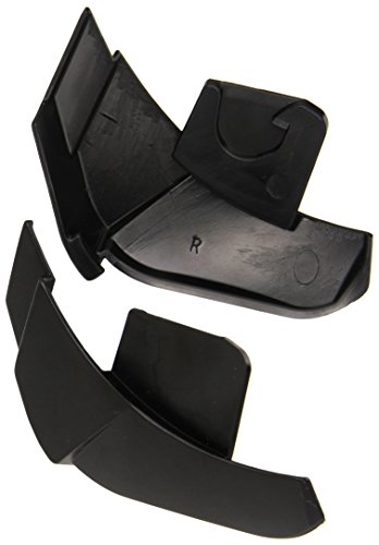 Stealth Phantom Convertible Helmet Replacement Cheek Edge Cap (Black) - Pair