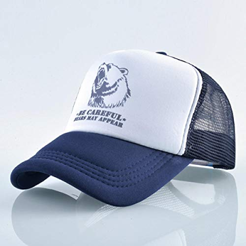 YDXC Gorra de béisbol Seca rápida para Hombres y Mujeres Deportes al Aire Libre Sombreros de Sol Hip Hop Unisex Flap Gorras Sombrero de Malla ósea para Bleu_Profond