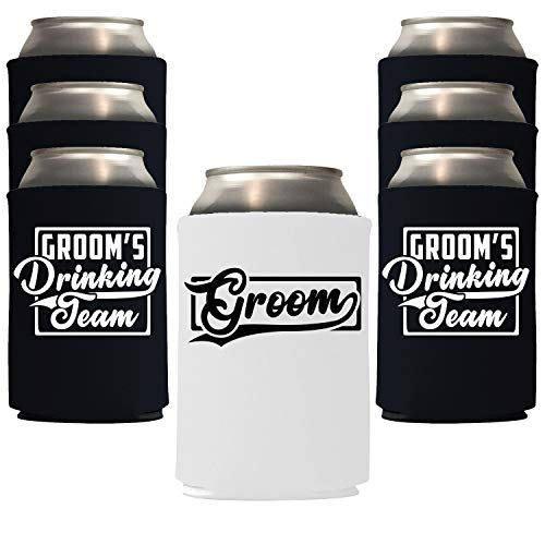 Groom's Drinking Team Can Coolies