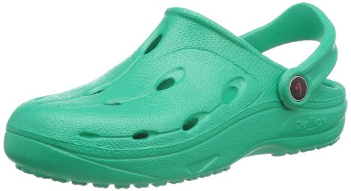 chung shi Unisex - Erwachsene Clogs, Dux BIO,Emerald Green,44/45 EU