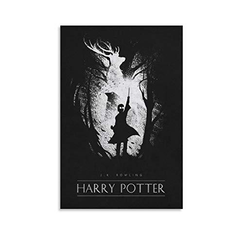 ZMSY Póster de Harry Potter con impresión artística de pared moderna para habitación familiar, 30 x 45 cm 9
