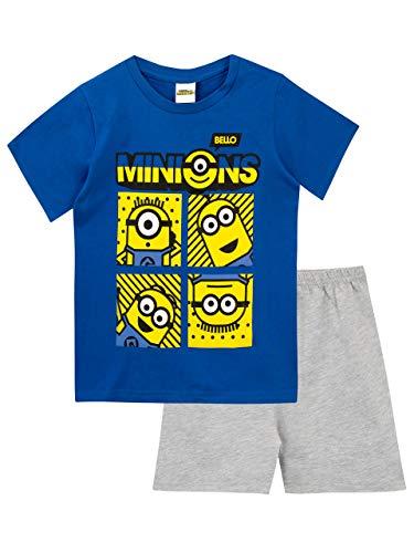 Minions Pijamas para Niños Despicable Me Azul 5-6 Años