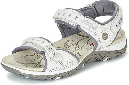 Allrounder by Mephisto Lagoona Sportschuhe Damen Weiss - 40 - Sportliche Sandalen Shoes