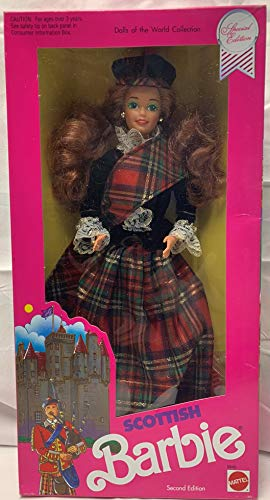 Scottish Barbie, Second Edition 1990