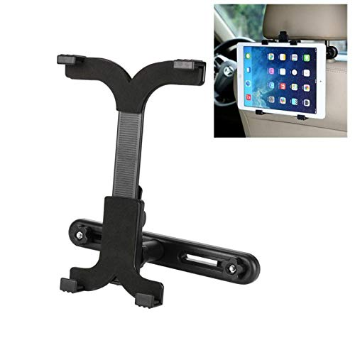 GUPENG Mobile Phone Automobile Cradles 360 Degree Car Back Seat Headrest Mount Holder Stands Bracket, for iPad 2/3/4/mini Tablet PC