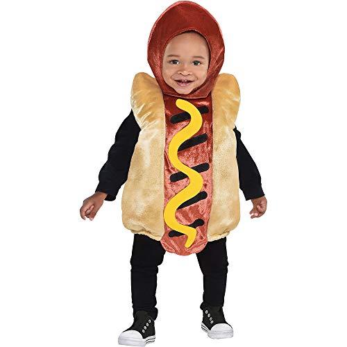 Toddler Mini Hot Dog Costume(12-24 M)