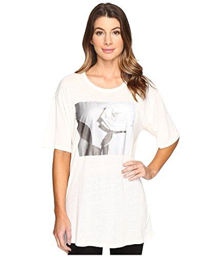 Diesel T-Rachel-P Maglietta Camiseta Mujer (M, Offwhite)