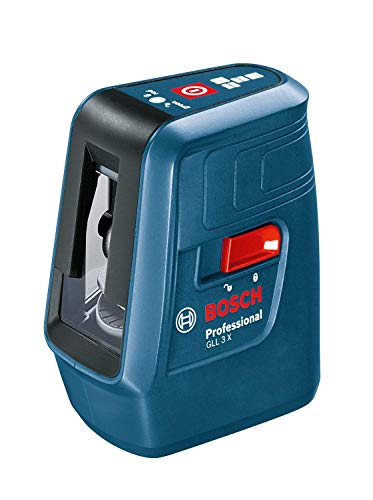 Bosch GLL 3x Professional Niveau laser en croix avec 3lignes