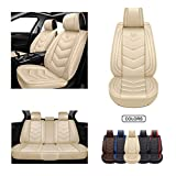 Oasis Auto Universal fit seat Covers OS-ECS (Front, tan)