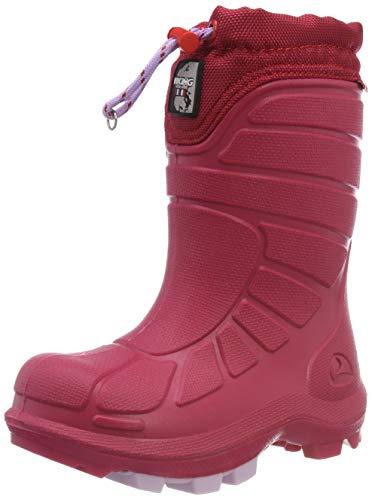 Viking Extreme Unisex-Kinder Schneestiefel, Pink (Cerise/pink), 35 EU