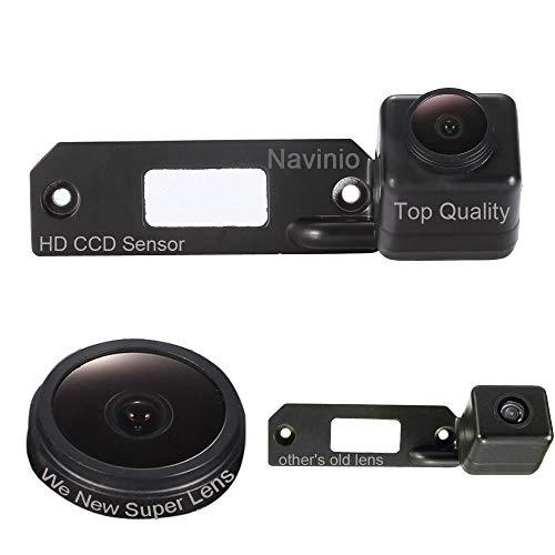 HDMEU Telecamere posteriori in luce targa (NTSC) Nero per for VW Sharan; VW Passat variant 3C/B6 model ‖2.0 TDI 2007; Skoda Superb/Polo/Touareg