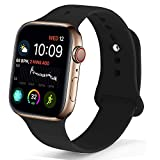 NUKELOLO Sport Band Compatible with Apple Watch 38MM 40MM 42MM 44MM,Soft...