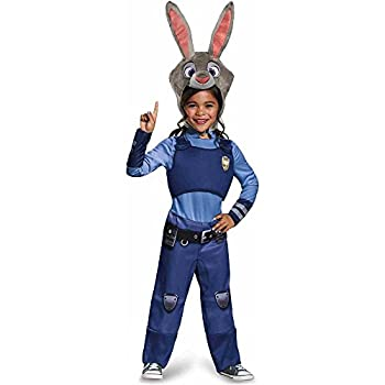 Disguise Disney Zootopia Judy Hopps Girls  Costume Blue / Gray X-Small/3T-4T
