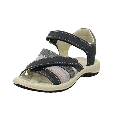 Imac Kinder Schuhe Mädchensandale in Blau-Lila 1019167 blau 493081