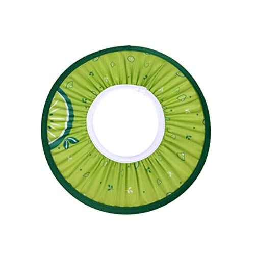 Healifty cuffia per la doccia Baby Shampoo Cuffia per doccia Visiera Shield Safe Safe Cuffia per l'orecchio Proteggi EVA Soft Hat per bambino Kid (verde)