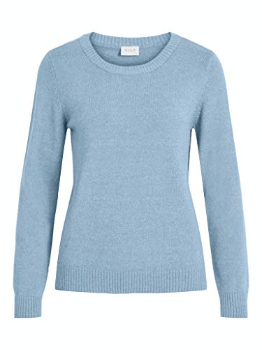 VILA dames pullover VIRIL L/S O-NECK KNIT TOP-NOOS