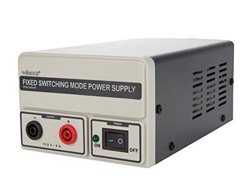 Velleman fps1306sm Red dispositivo de tensión fija de 13.8VDC/de 6a fuente de alimentación conmutada