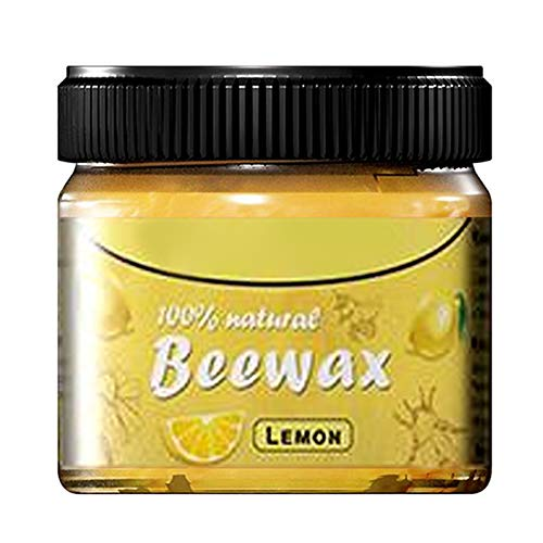 Jiaojie Multifunktionellt naturligt trä vax trä krydda beewax polering vård doftande bivax förnyelse möbler för hemmet