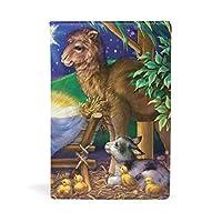 ブックカバー 文庫 a5 皮革 レザー 平和な世界 優しい動物 宝 文庫本カバー ファイル 資料 収納入れ オフィス用品 読書 雑貨 プレゼント